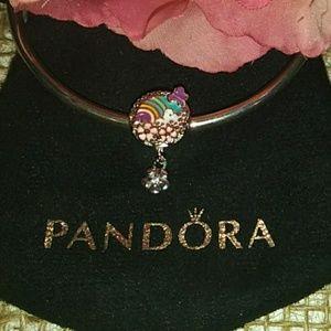 Pandora's dangle Flower Color Story Charm